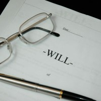 will, pen and glasses