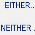 either-neither